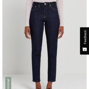 Frank & Oak Debbie Jeans High waist Dark 30